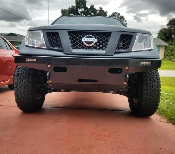Nissan Frontier Bumper >> Winch Capable Hybrid Plate Bumper Made To Order Nissan