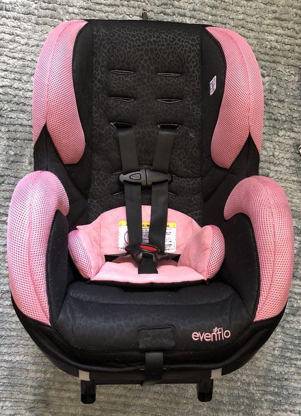 Evenflo Sureride 65 Dlx Convertible Car Seat Nicole Pink