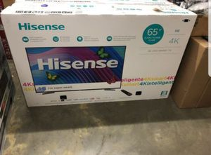 """Hisense 65H6D 65"""" 4K UHD HDR LED Smart TV 120hz 2160p (FREE DELIVERY) for Sale in Renton, WA"""