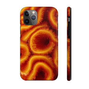Photo IPHONE 11 PRO RED CORAL CASE MATE TOUGH PHONE CASES