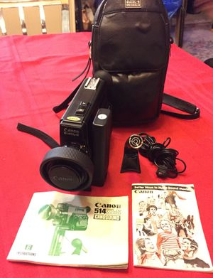 Canon film video camera vintage for Sale in Washington, DC