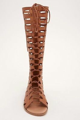 7019cd90e884 Women s TORRID Brown Gladiator Sandals Size 9 for Sale in Vancouver ...