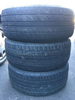 3 set off used tire 235/55/ZR17 All is $80 for Sale in Leesburg, VA
