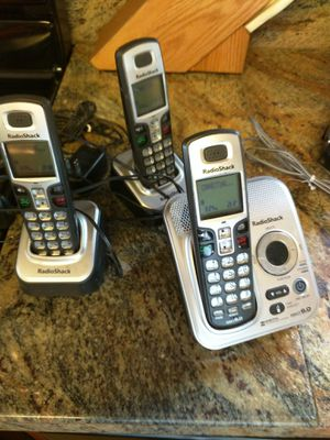 RDio Shack 3 phone set for Sale in Brinnon, WA