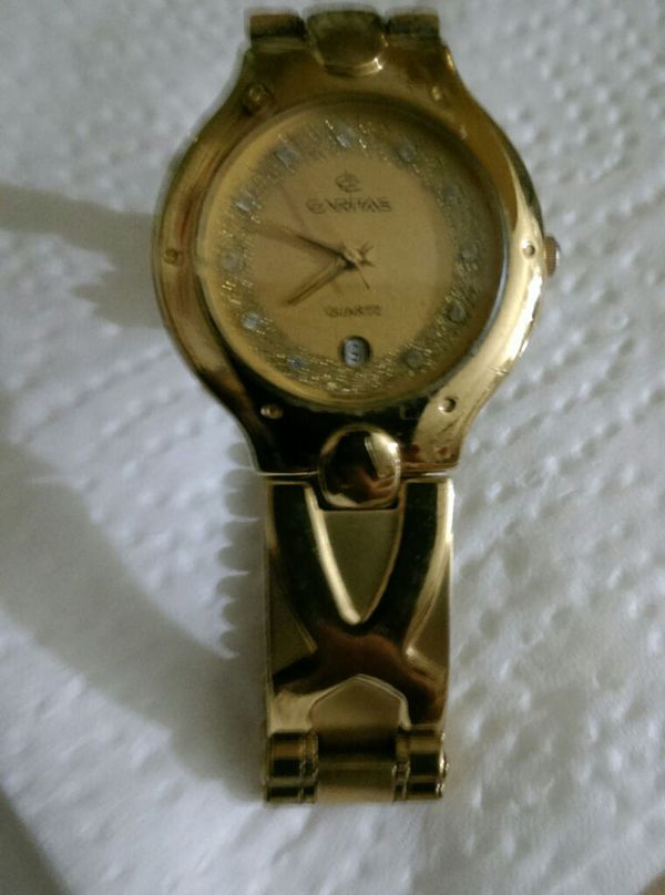 CARITAS WATCH 23GOLD PLATED for Sale in Riverside 51ea9398e1
