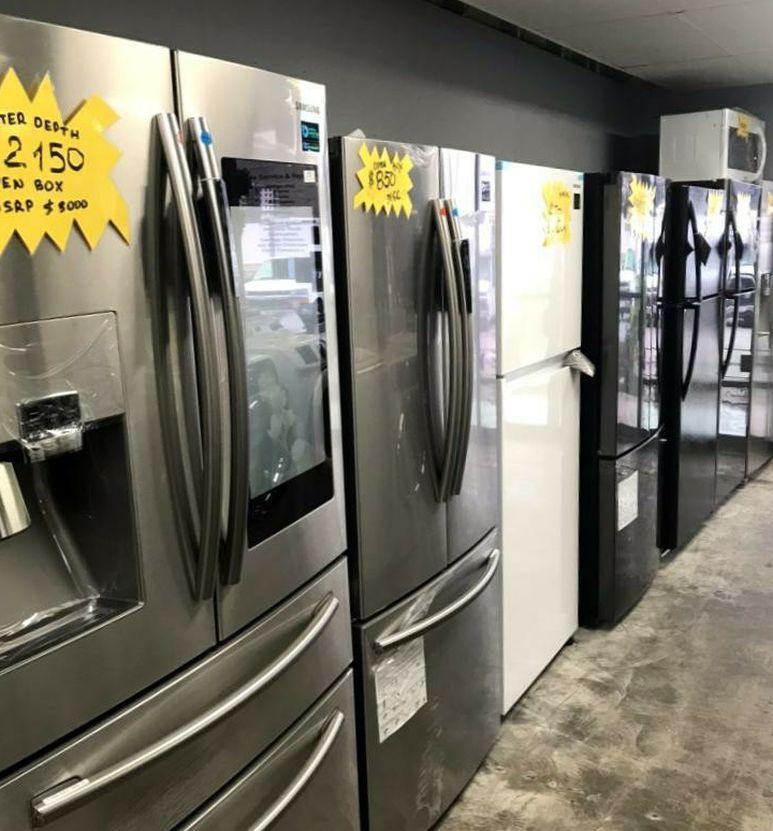 Samsung Showcase Flex Drawer Hub Refrigerator Stainless
