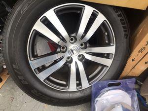 "Photo 2017 Honda Pilot 3 wheels with tires 18"""
