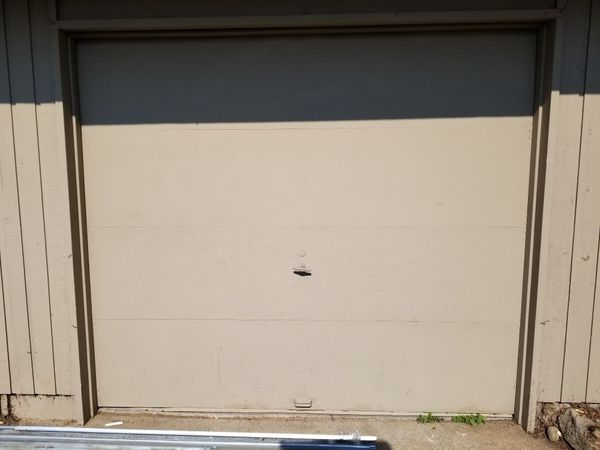 Garage Doors 2 Of Them 8ft Wide By 7ft Tall Free For Sale In