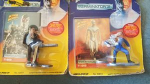 Action Masters Terminator 2 T-800 + T-1000 Die Cast Metal Collectible Figure by Kenner for Sale in Columbia, SC