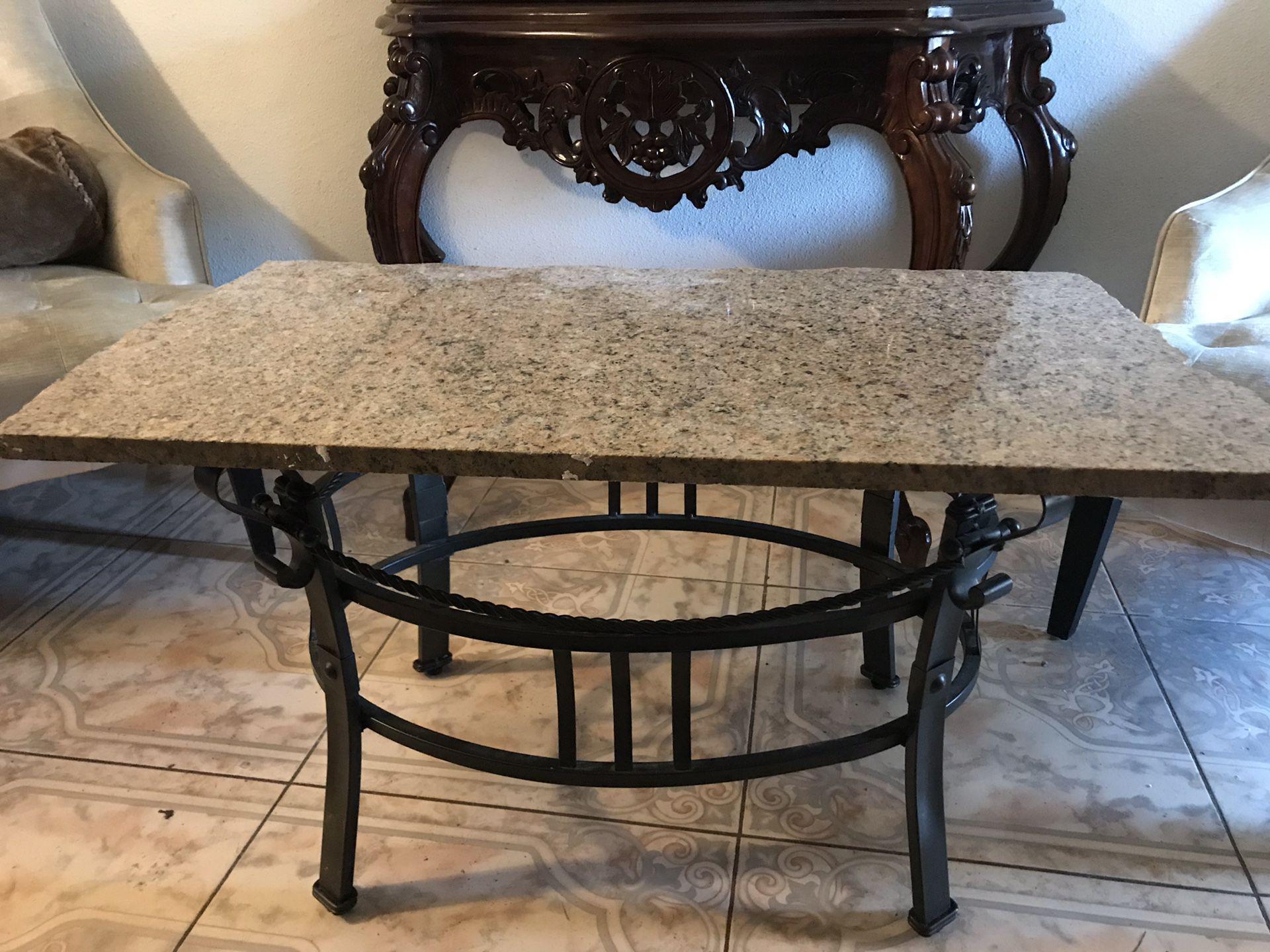 Table very heavy.