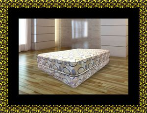 Queen plush 2pc mattress and box spring for Sale in Hyattsville, MD