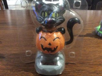 Brand new solar Halloween characters, set of five all different Thumbnail