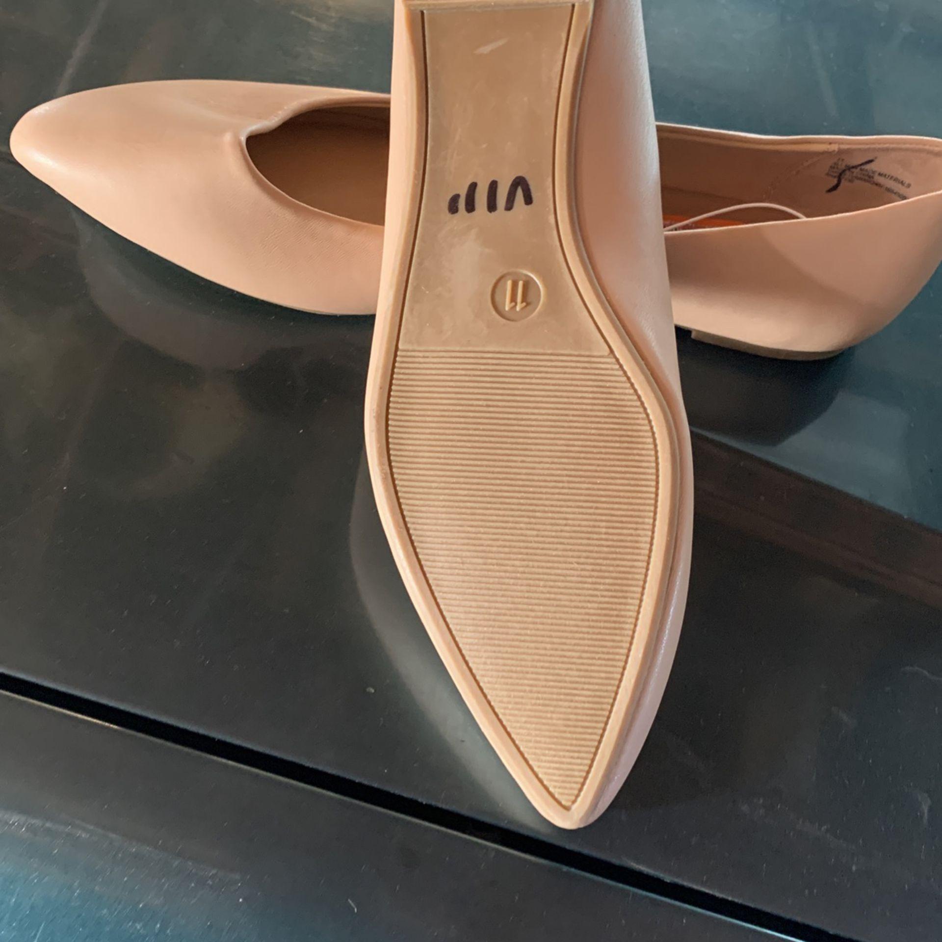 Flat Shoe, Nude Color, Size , 9,10,11