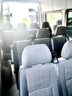 Cloth Seats Passenger Sprinter Van Thumbnail