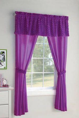 Purple curtain for Sale in Manassas, VA