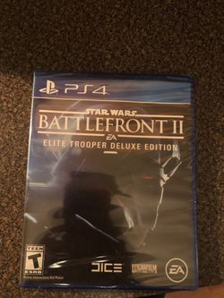 Star Wars battlefront 2 deluxe edition Thumbnail