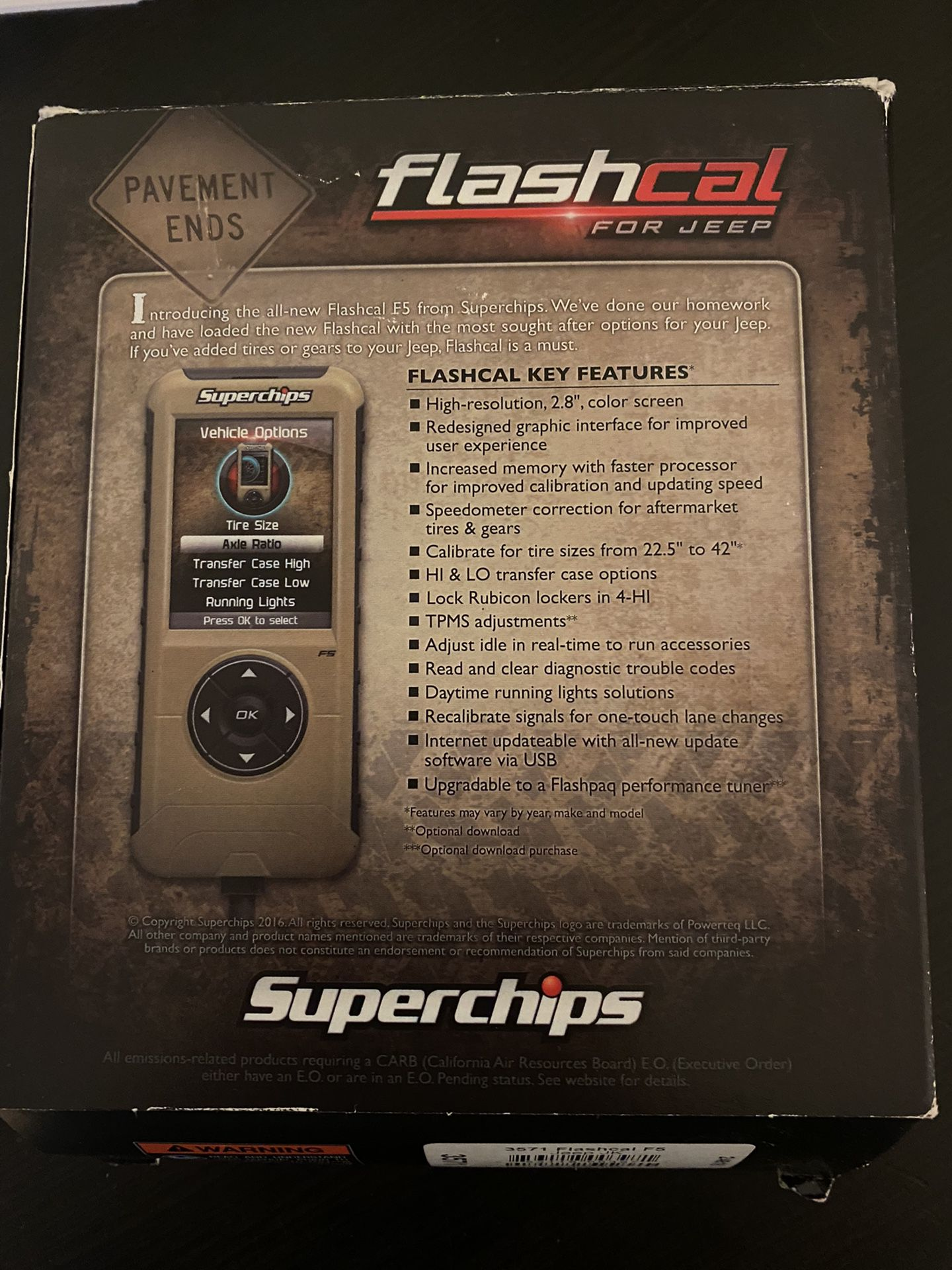 Flashcal For Jeep