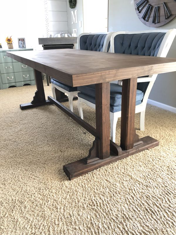 Farmhouse Dining Table For Sale In Manteca CA OfferUp - Farmhouse conference table