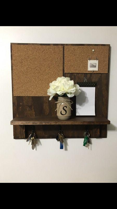 Hand made wall shelf