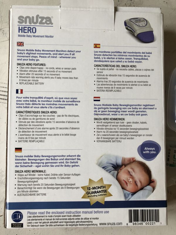 Snuza Hero Baby Monitor For Sale In Irvine Ca Offerup