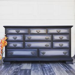 Customize your antique furniture !!! Free estimates !!! Dresser tv stand wood end table buffet sideboard Thumbnail