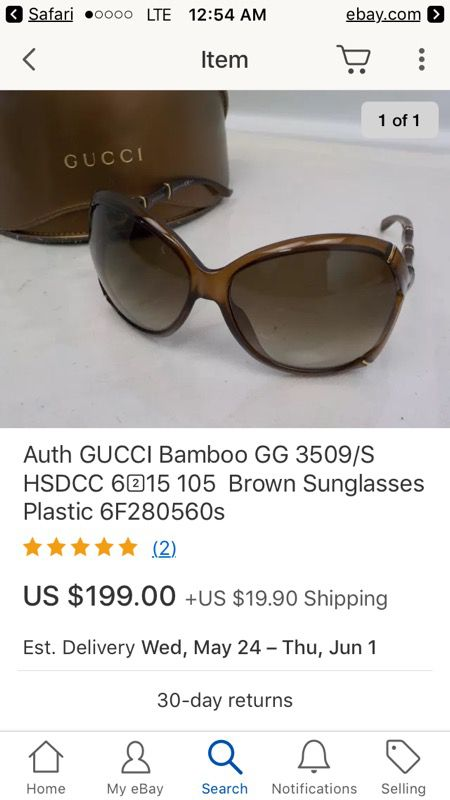 6b5be194cc76 Authentic Gucci Glasses (women) for Sale in Alameda