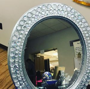 17 inch mirrored wall decor (blinged to perfection) for Sale in Waldorf, MD