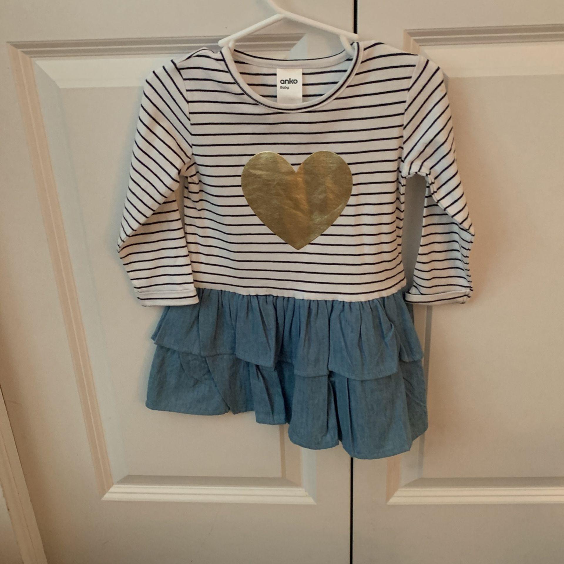 Anko Baby Dress 12-18 Months