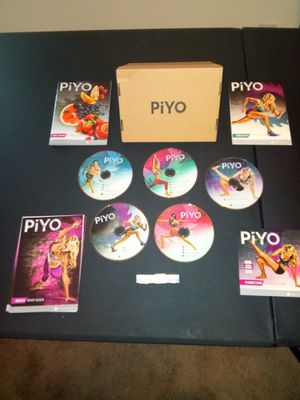 Piyo complete workout DVD set for Sale in Gaithersburg, MD