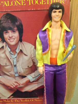Donny Osmond Record & collectible Action Figure for Sale in Weston, FL