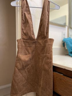 Corduroy Overall Dress Thumbnail