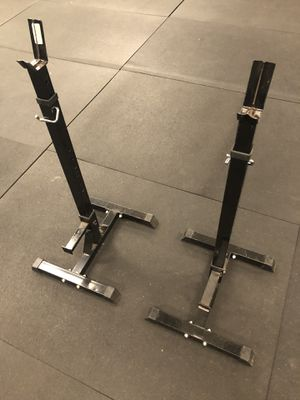 Squat rack stands for Sale in Austin, TX