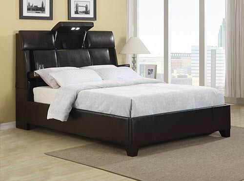 Queen Sized Bed Includes Headboard With Bluetooth