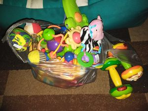 Bag of baby toys for Sale in Midland, TX