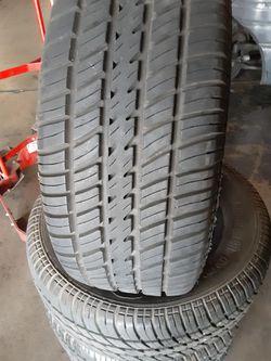 Set of 235/60/14 Cooper tires Thumbnail