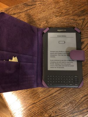 Kindle with case for Sale in Rockville, MD