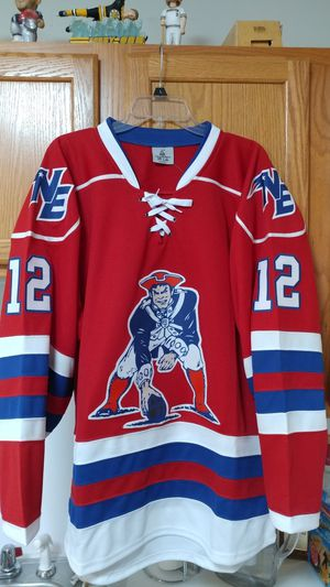 Brady Red & Blue hockey jerseys adult M to 2XL for Sale in Boston, MA