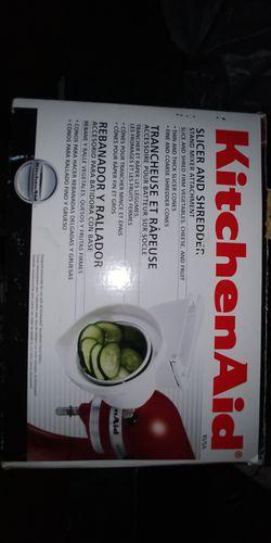 New Kitchenaid Slicer Shredder Thumbnail