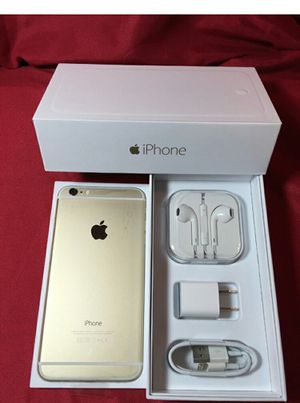 IPhone6 + Factory Unlocked + box and accessories + 30 day warranty for Sale in Washington, DC