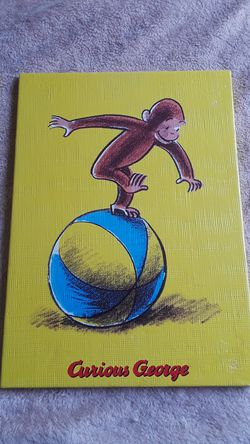 Curious George Paintings on Canvas Thumbnail