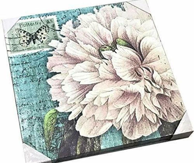 Floral Art Canvas Wall Decoration