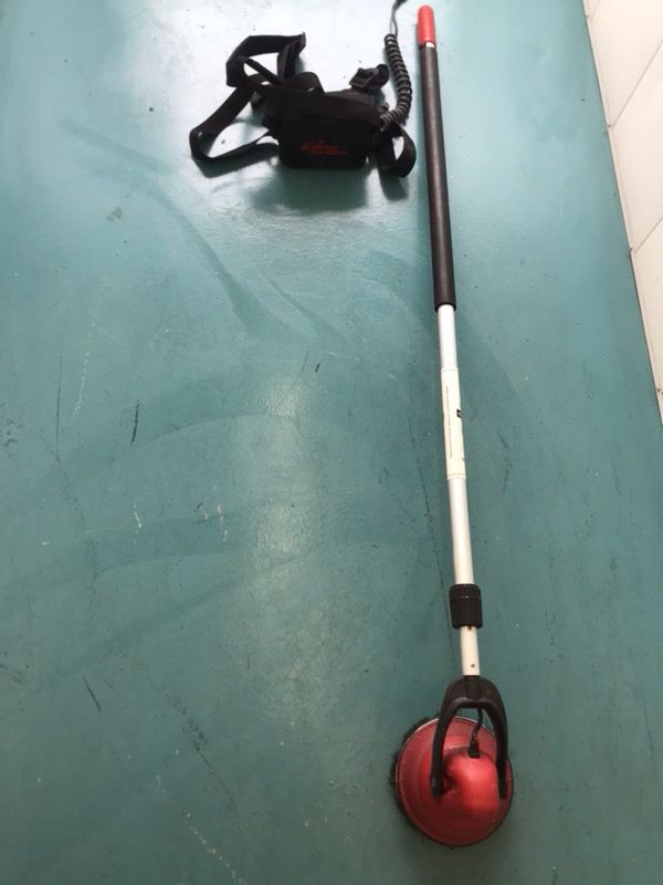 108c3234210 Motor Scrubber - MS4000 Hand Held Motorized Scrubber w/ Battery Pack &  charger
