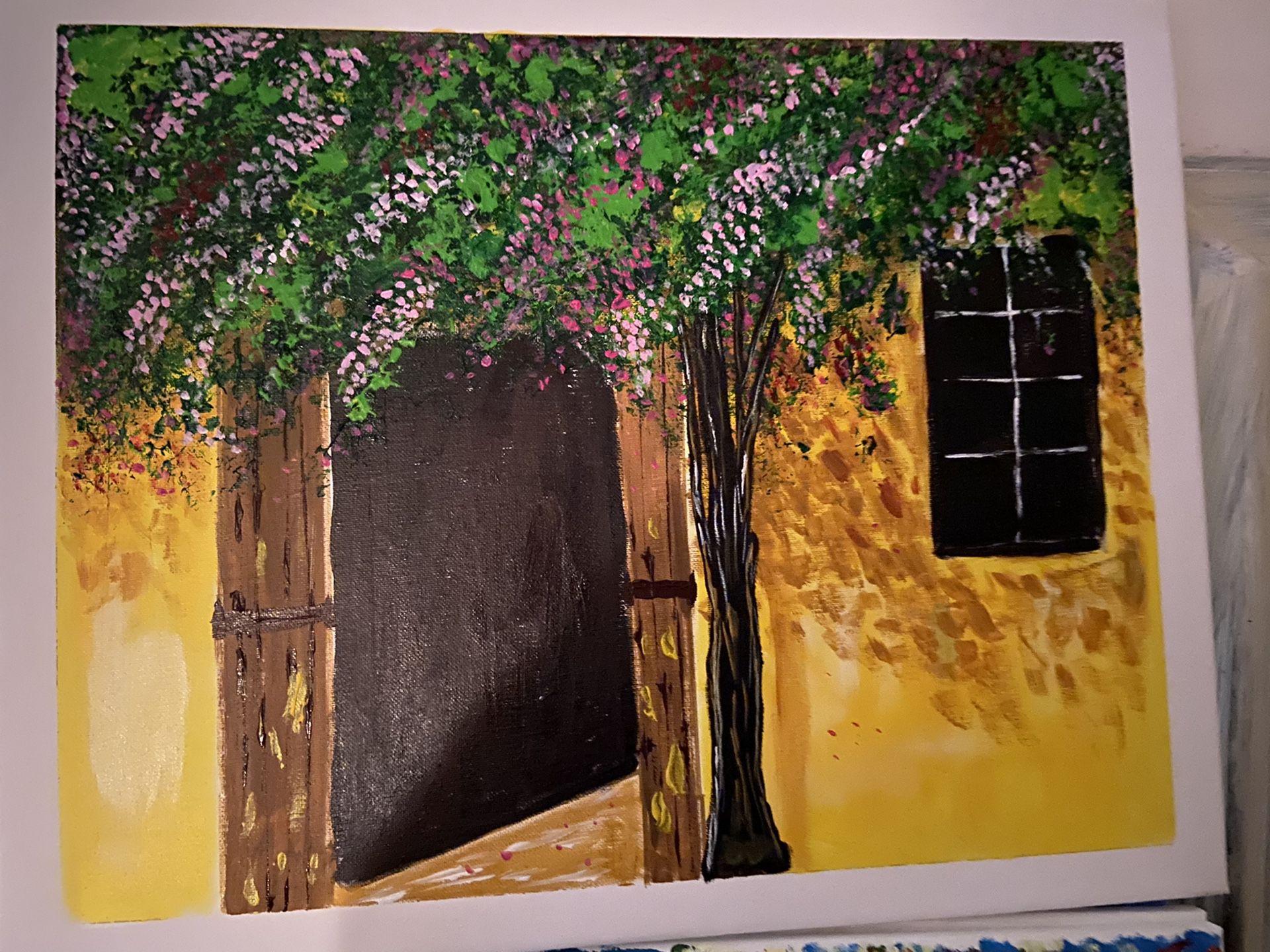 16 x 20 Art Canvas Painting