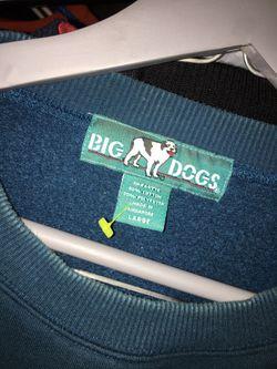 Vintage big dogs golf crewneck 🔥🔥🔥 Sz L Thumbnail