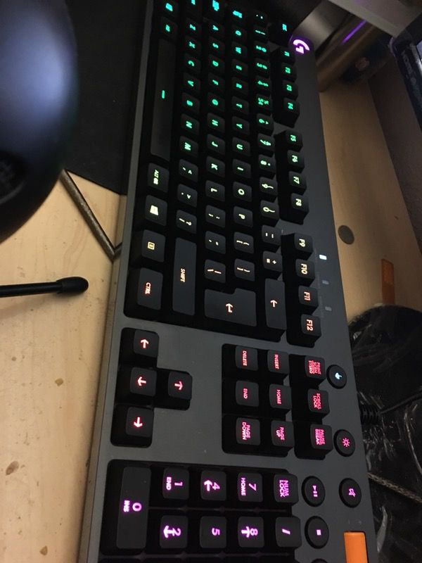 c3d4a7143a2 Logitech G810 Orion RGB GAMING KEYBOARD for Sale in San Diego, CA ...