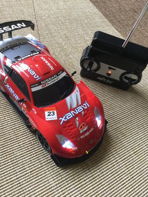 🏎🏎🏎 😁👍 NISSAN Red and white & black Super GT car / Radio Control Race Car 4 Speed full function for Sale in Alexandria, VA