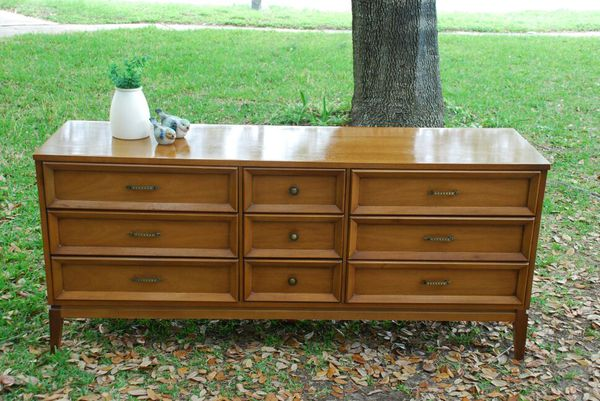Open in the AppContinue to the mobile website - Dixie Brand Mid Century Modern Dresser MCM For Sale In Katy, TX