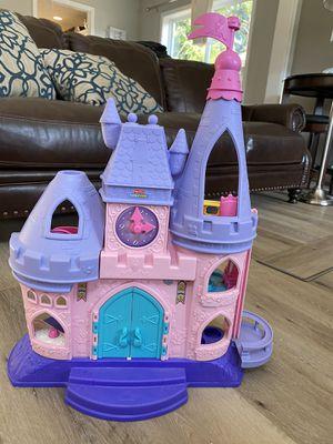Photo Little People princess castle