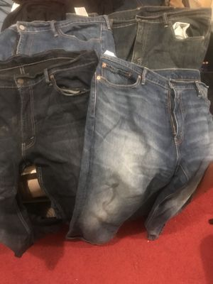 Four pair of Levi's Jeans in size 40 for Sale in Takoma Park, MD