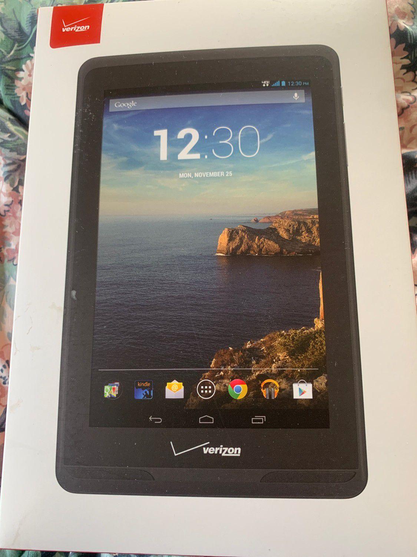 Verizon 4G LTE Ellipsis Android Tablet
